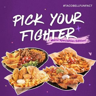 Taco Bell is more than just Taco. Let me introduce you more menus! Swipe 😉👉🏻  #WaktunyaTacoBell #TacoBellIndonesia