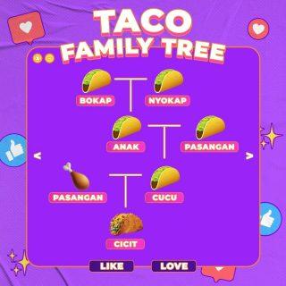 Oalah, ternyata ini gais kenapa shell-nya Naked Chicken Taco itu terbuat dari crispy chicken dan beda dari brader and sister-nya yang lain. 🌮 Hmm sekarang semua jadi make sense. 🤔  #WaktunyaTacoBell #TacoBellIndonesia