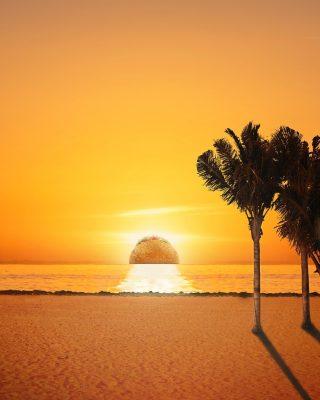 Abis exploring PIK seharian, MinBell sampe deh di last stop. Nonton sunset sama doi di white sand beach romantis banget, apalagi gara-gara mataharinya mirip taco…. 🥰 Eh- KOK MATAHARINYA MIRIP TACO SIH? 🌮  #ISEEATACO #WaktunyaTacoBell #TacoBellIndonesia