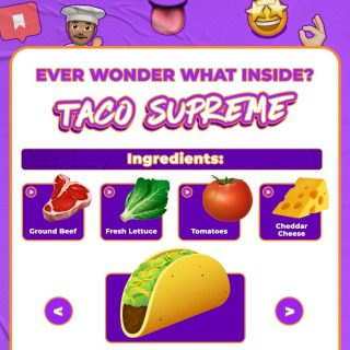 POV: Me telling my friends how Taco Supreme tastes like. 🌮 Brb, otw pesen lewat @grabfoodid. 😌  #WaktunyaTacoBell #TacoBellIndonesia