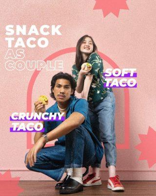 Tag the Soft Taco to your Crunchy Taco. 🌮 ♥️  #WaktunyaTacoBell #TacoBellIndonesia